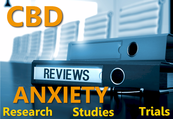 CBD and Anxiety Research, Studies, Trials