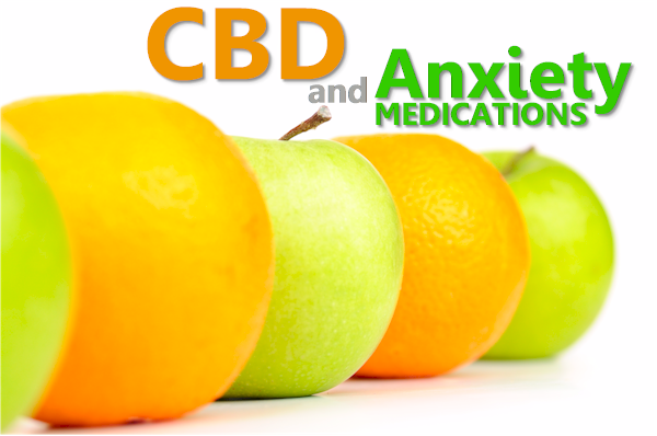 compare cbd versus anxiety medications like benzos and ssris