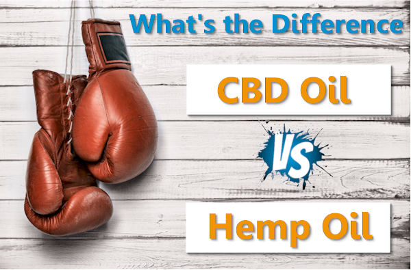 whats the difference between cbd oil and hemp oil