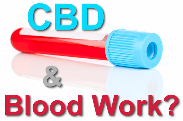 does cbd affect blood work