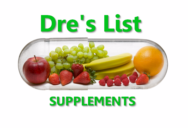 Dre's list of supplements for perimenopause, longevity, histamines, and more