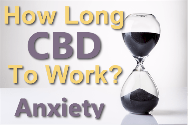 how long does it take for cbd to work for anxiety