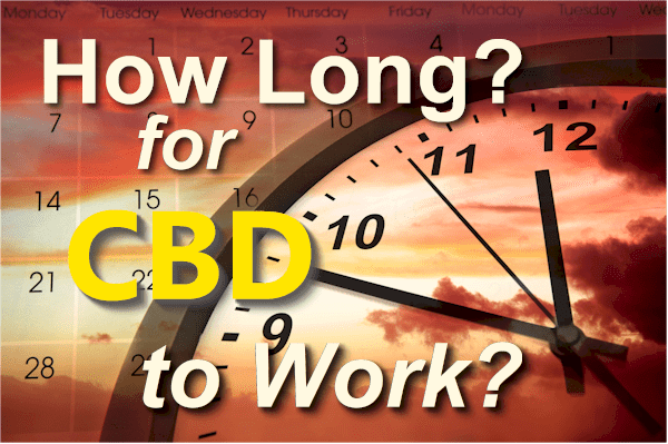 How long does it take for CBD to work both short term and long term