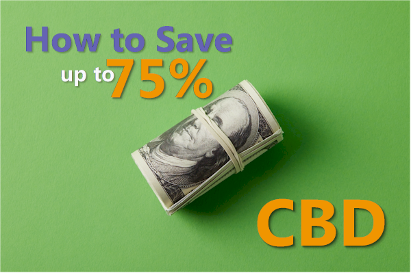 How to save up to 75% on CBD