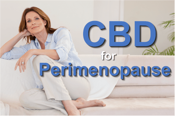 how to use CBD for perimenopause symptoms