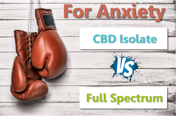 Is CBD full spectrum of Isolate better for anxiety