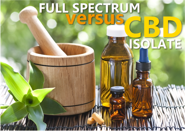 is full spectrum cbd better than cbd isolate