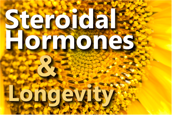 Does loss of steroidal hormones start the aging cascade?