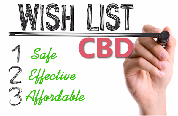 shopping list for picking the best cbd