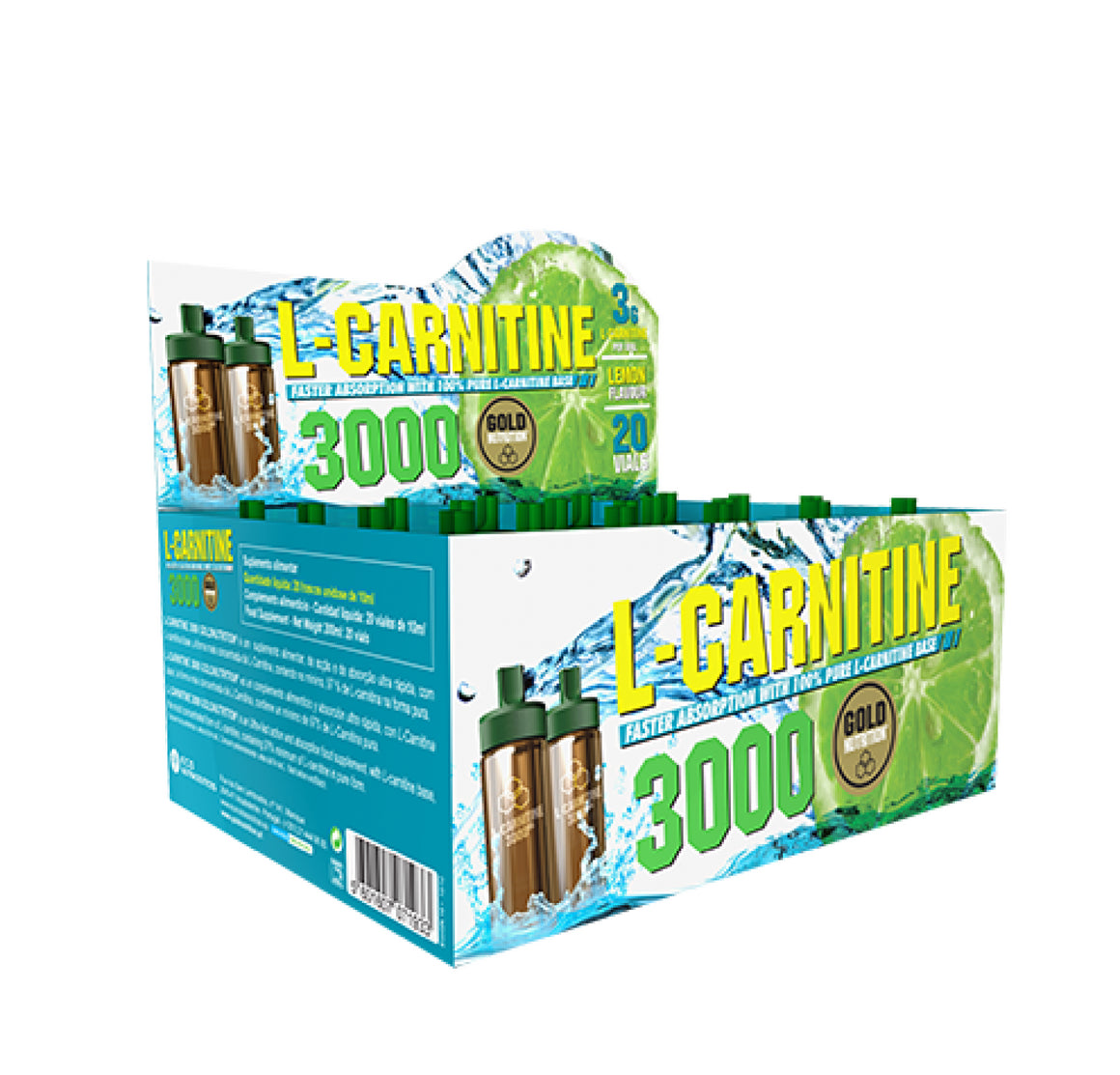 L-Carnitina 3000mg (ampolas)