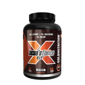 BCAA's Extreme Force em comprimidos