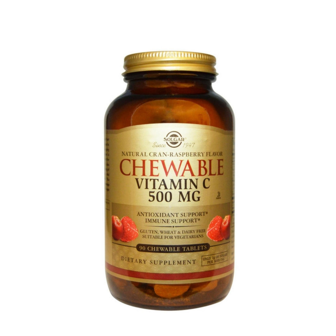 Vitamina C mastigável 500mg