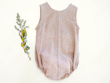 Load image into Gallery viewer, 'Oak' Striped Romper