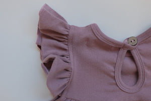 'Lucia' Dress - Dusty Plum