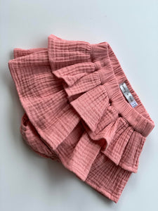 'Lucy' Ruffle Bloomer - Blush