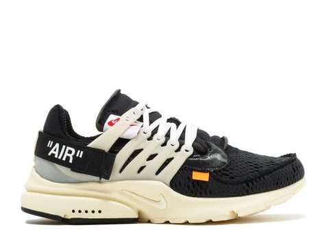 Authentic The 10 Nike Air Presto x Off-White Black-Muslin AA3830-001