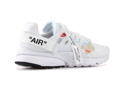 Authentic Nike Air Presto Off-White All White AA3830-100 Virgil Abloh