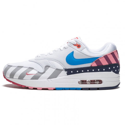 Authentic Parra X Nike Air Max 1 AT3057-100 White/Pure Platinum