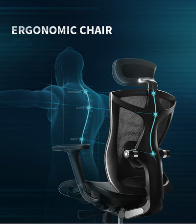 GC-19 Ergonomically Designed Computer Chair Silla Ergonomic Office Chair High quality