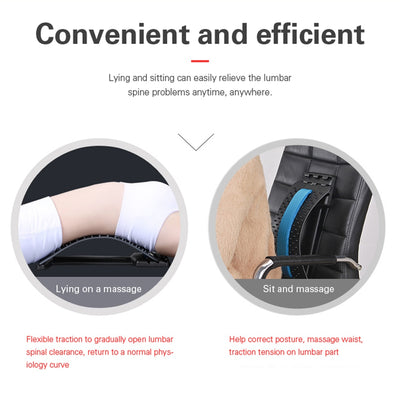 Equipment Back Massager Magic Stretcher Fitness Lumbar Support Massager