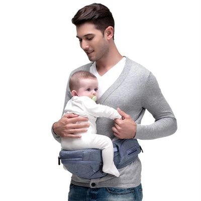 bag hip seat Carrier AX16 0-30 Months 4 in 1 Infant Comfortable Sling Carrier Baby Belt