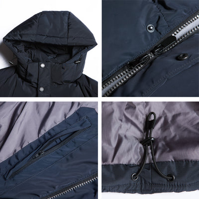 Male Parka Winter Coat High Quality Man Jacket Warm