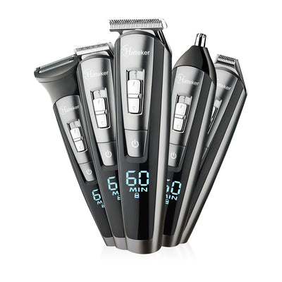 HC-21 professional hair trimmer waterproof 5 in1 hair clipper beard trimmer body men haircut waterproof