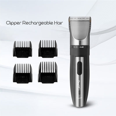 HC-03 Professional Low Noise Rechargeable Haircut Machine Adjustable 0.8-2mm