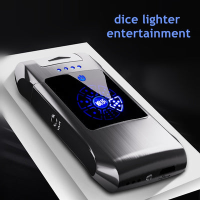 LT-18 Metal Flameless Double Arc lighter electronic gadgets