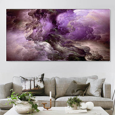 CF-02 Wall Art Colorful Clouds Canvas Paintings