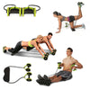Power Roll Abdominal and Full Body Muscle Exercise Equipment Trainer Home Gym Fitness