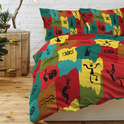 Egyptian Black and Gold Bedding Sets