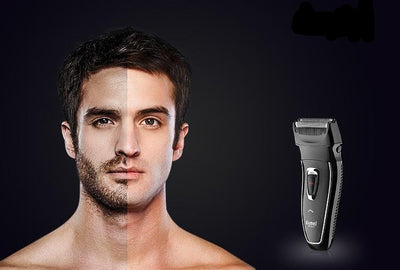 Rechargeable Electric Shaver Rotary Hair Trimmer Face Care