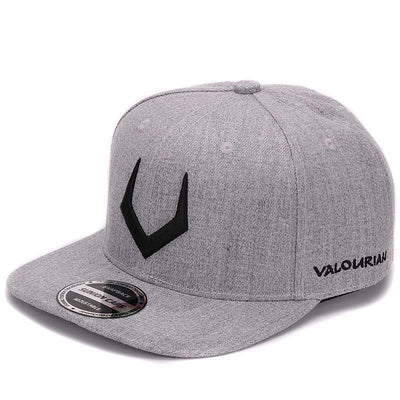 baseball caps hip hop High quality grey wool snapback  3D pierced embroidery