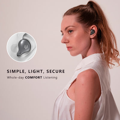 True Wireless Bluetooth 5.0 Earbuds One-Step Pairing