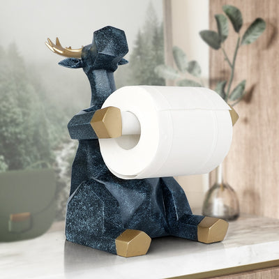 Animal statue Craft Decorations roll paper Tissue Holder