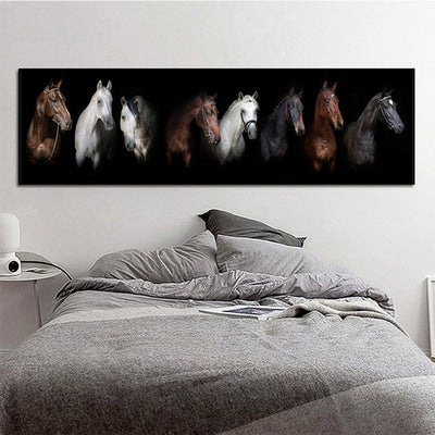 CH-04 Horse Paintings Wall Art Canvas Prints Big Size