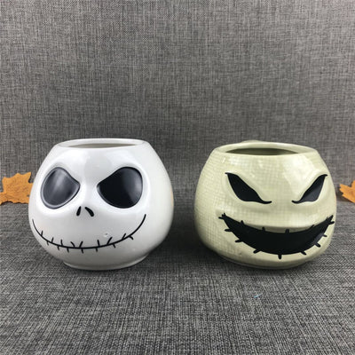 Jack Skellington Sally Oogie Boogie Large Capacity Ceramic Cup Coffee Mug