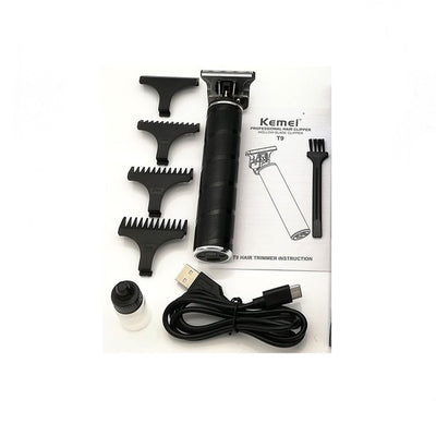 HC-34 Li T-Outliner Skeleton Heavy Hitter Cordless Trimmer Men 0mm Baldheaded Hair Clipper