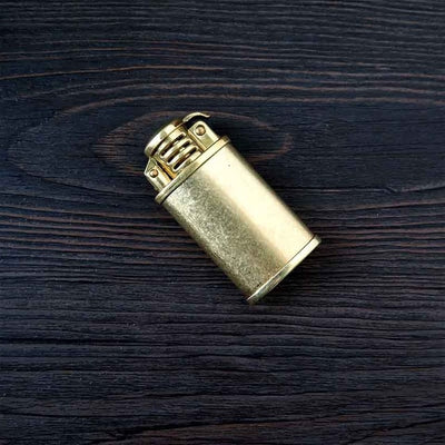 Kerosene Lighter Vintage Mini Lighter For Cigarette Gasoline Oil Petrol Refillable Flint