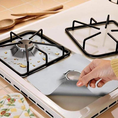 1/2/4PCS Gas Stove Protector gas Stove Cooker Kitchen Accessories