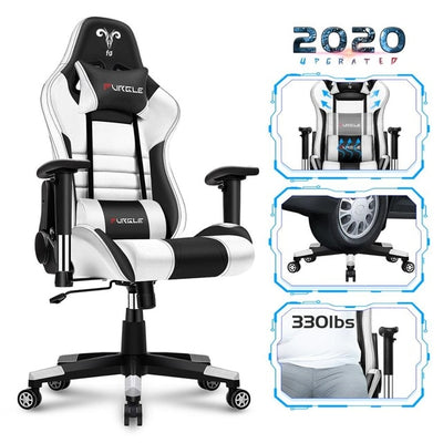 GC-14 Office Chair Swivel Gaming Chair High Back Racing PU Leather