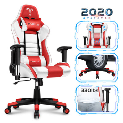 GC-13 Swivel Gaming Chair Office Chair with High Back Racing Gaming PU Leather