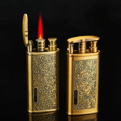 Gadgets For Man Torch Lighter Jet Turbo Gas Lighter Windproof Metal Pocket Lighter