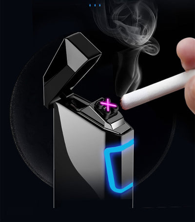 LT-09 PLASMA LIGHTER Electronic+Usb Recharge+Touch+display power