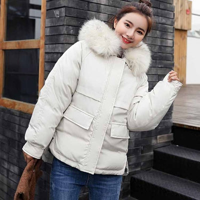 Cotton-Padded Jackets Thickening Women Winter coat