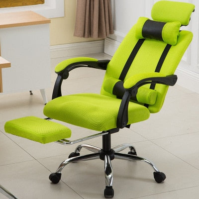 Office Computer Chair Gaming Revolving Footrest for Office High Back Ergonomic Armchair