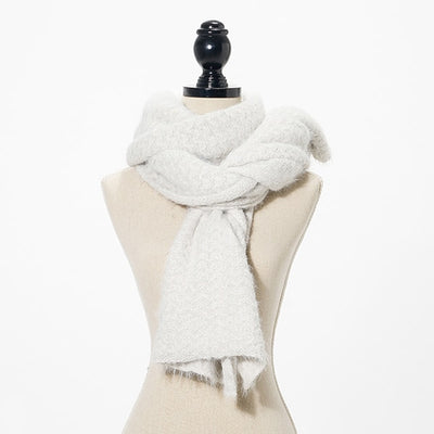 Women Wool Scarf Winter Warm Knitting
