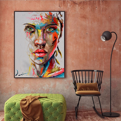 Wall Art Canvas Painting Figure Home Decor Wall Art Wall Posters Women Art