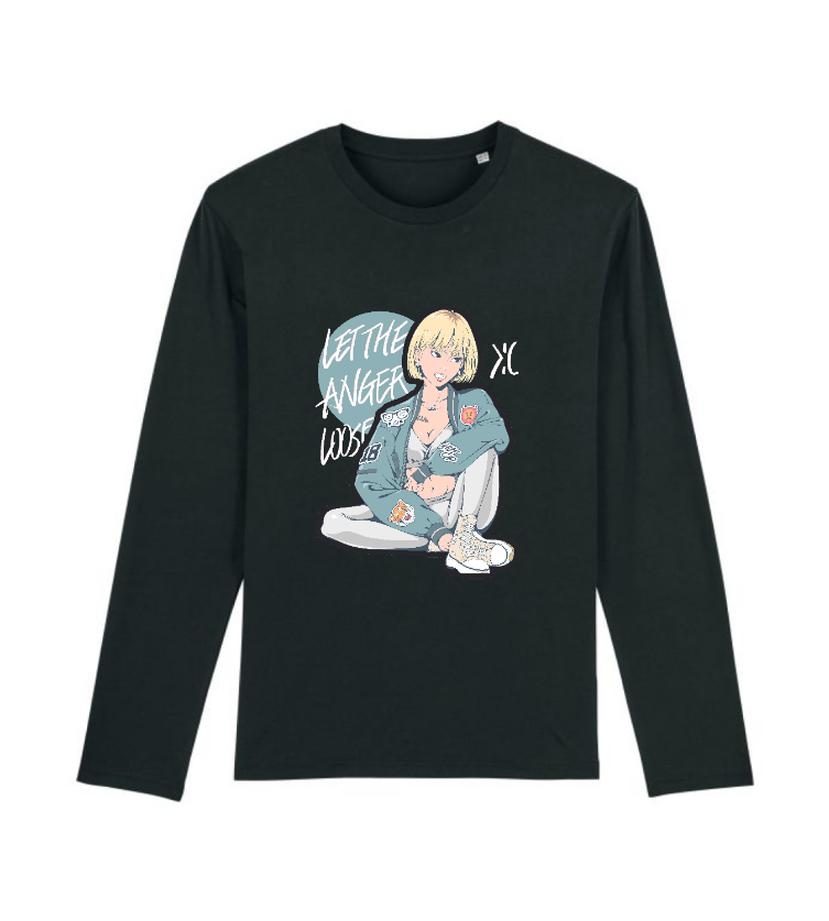 Ikari(Anger) Long Sleeve